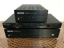 NuVo NP-2100 Amplifier - NV-18DM Concerto - NV-T2FX Tuner System - Un Tested