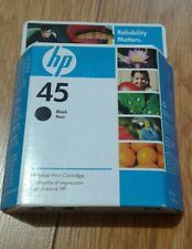 HP #45 Black Ink Cartridge for HP Printer expired unopened