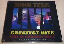 John Tesh Greatest Hits: Live in Concert Vol. 1 [Digipak] (CD/DVD 2-Discs) NEW!