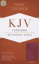 KJV Ultrathin Reference Bible, Pink LeatherTouch (2013, Imitation Leather)