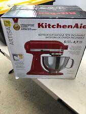 KitchenAid KSM150PSER 325-Watt 5-Quart Tilt Head Stand Mixer - Empire Red *NEW*>