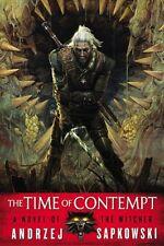 The Time of Contempt (The Witcher) by Andrzej Sapkowski, (Paperback), Orbit , Ne