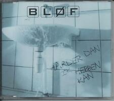 BLOF - Harder dan ik hebben kan CD-MAXI 4TR HOLLAND 1999 RARE!!
