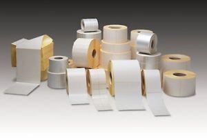 5 x  Rollen Thermo ECO Etiketten 102mm * 152mm für Versand UPS DPD DHL