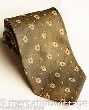 LAGERFELD cravatta in seta verde/viola green/violet silk tie made in Italy