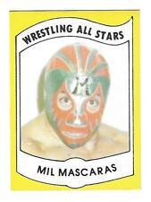 1982 Wrestling All Stars Series A Set Break #3 Mil Mascaras