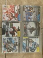 PS3 Lot Of 6 Very Good
