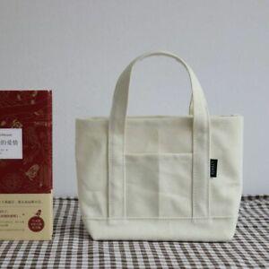Handbag Casual Tote Female Shoulder Bags Small Cotton Canvas Eco Crossbody Women