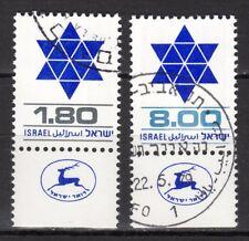 Israel - 1979 Definitives Davidstar - Mi. 797-98 VFU
