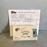 2020 Topps T206 Sealed Box of 10 Cards From Series 1 - SOLD OUT at TOPPS