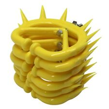 Calf Weaner Plastic Yellow Color Large Size 95 mm x 80 mm