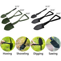 Multi functional Folding Tactical Shovel Survival Garden Camping Emergency Spade