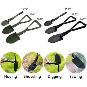Multi functional Garden Camping Folding Tactical Shovel Survival Emergency Spade