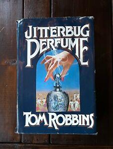 Jitterbug Perfume by Tom Robbins First Edition 1st Printing 1984 Hardcover