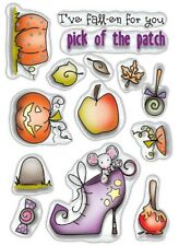 New Polkadoodles Clear Stamps Halloween Pick Of The Patch