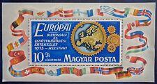 Hongrie, bloc n°119 neuf, conférence sécurité et coopération en Europe, 1975