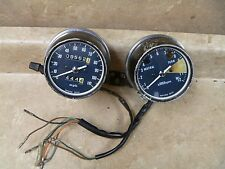 Honda CB360 CL360 Used Speedometer Tachometer Gauges 1975 Vintage #MT720