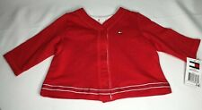 TOMMY HILLFIGER baby jacket in true red with Tommy  logo...