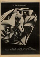 Rough Diamond David Byron Uriah Heep UK LP advert 1977 MM-DSQO