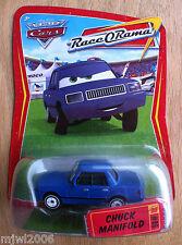 Disney PIXAR Cars CHUCK MANIFOLD Race O Rama World of Cars diecast #86 press