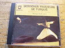 La ceremonie del Mevlevi [CD ALBUM] Turchia Soufi