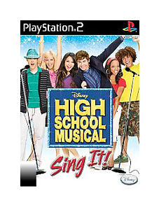 HIGH SCHOOL MUSICAL : SING IT BRAND NEW SEALED PS2 GAME Free Shipping