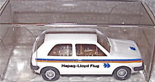 VW GOLF HAPAG LLOYD AEREO MODELLO PUBBLICITARIO Wiking 1:87 Å
