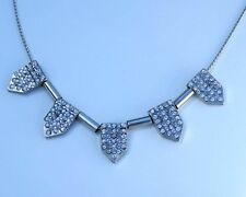 Handmade Alloy Crystal Chain Costume Necklaces & Pendants
