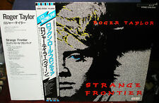 "ROGER TAYLOR ""Strange Frontier"" 1984 Japan WL PROMO Lp w/Obi/lyrics QUEEN MAY"