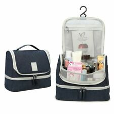 Travel Cosmetic Makeup Bag Toiletry Pouch Wash Organizer Storage Case Hanging