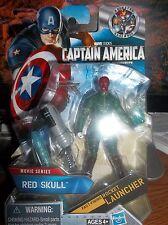 Captain America The First Avenger Red Skull Variant White Gloves Chase VHTF NEW