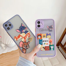 Phone Case Cartoon Tom And Jerry TPU Cover For iPhone 11 Max X XR Xs 7 8 SE 2020