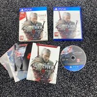 The Witcher 3: Wild Hunt (PlayStation 4) Complete With All Cards & Stickers