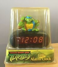 TEENAGE MUTANT NINJA TURTLES LED ALARM CLOCK