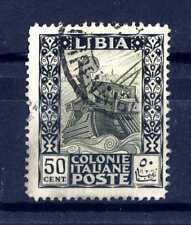 LIBIA - 1924-1929 - Pittorica - 50 cent. - Tipi del 1921. E4355