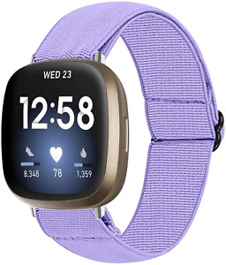 For Fitbit Versa 3 Sense Fitness Tracker Band Breathable Soft Sport Woven Strap