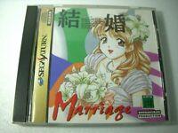 Sega Saturn Marriage SS Japan Game