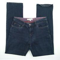 Blue Grae Denim - High Rise Straight Blue Stretch Denim Jeans Women's Size 10