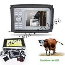 Veterinary Digital  palmtop Ultrasound Scanner Machine  Rectal Probe Box Sale
