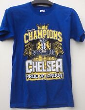 Fruit of the Loom Men/Woman Blue Chelsea FC short sleeved Tshirt Size Small