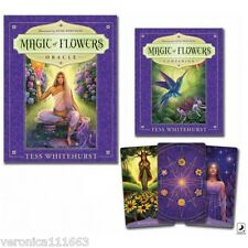 Magic of Flowers Oracle Set NEW Sealed 44 cards 264 page book Whitehurst Wetheim