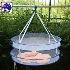 Foldable Double Layer Hanging Dry Rack Clothes Laundry Drying Carry HBASK7722