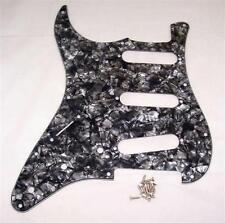 Mano SINISTRA Scratchplate per Fender Strat / Nero Perla
