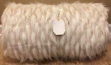 NEW Pottery Barn Teen Faux Fur Hooded Sleeping Bag IVORY LLAMA