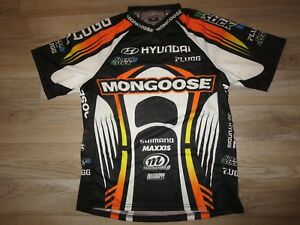 Jason davies Mongoose Hyundai Motocross AMA Supercross Race Jersey M Medium mens
