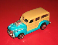 #### HOTWHEELS TURQUOISE 40'S FORD WOODIE WAGON 5SP MALAYSIA
