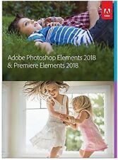 Adobe Photoshop Elements 2018 & Premiere Elements 2018 Brand New (65281603)
