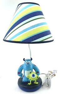 Disney Monster's Inc Nursery Lamp With Shade