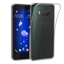 """Coque silicone souple transparente pour HTC U11 (5,5"""") U 11"""