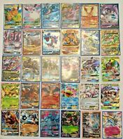 Pokemon Card Lot 110 OFFICIAL TCG Cards Ultra Rare Included - GX EX MEGA + HOLOS